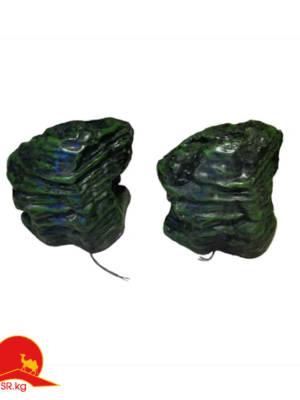 Колонки в виде камня декоративные