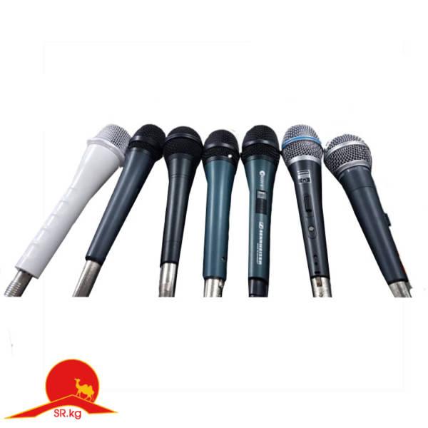 Микрофоны со шнуром