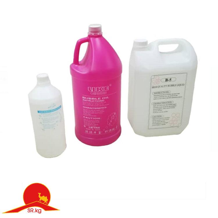 Жидкость и концентрат для мыльных пузырей