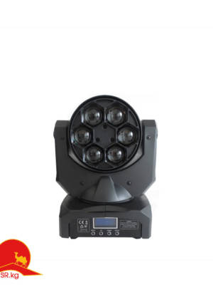 6PCS Mini Bee Beam Moving Head 90W